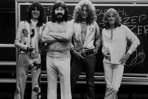 Un inédit de Led Zeppelin refait surface