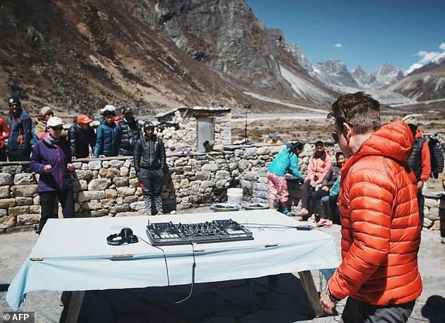 Concert électro sur l'Everest