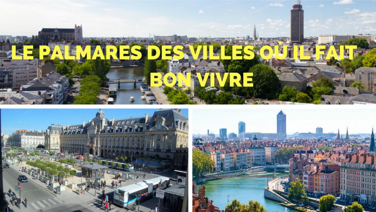 Classement Villes France Ou Il Fait Bon Vivre