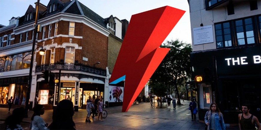 Une statue en l'honneur de David Bowie à Brixton