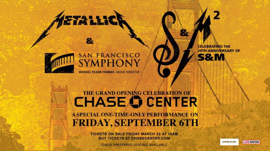 Metallica : en concert avec un orchestre symphonique pour la 2nd fois.