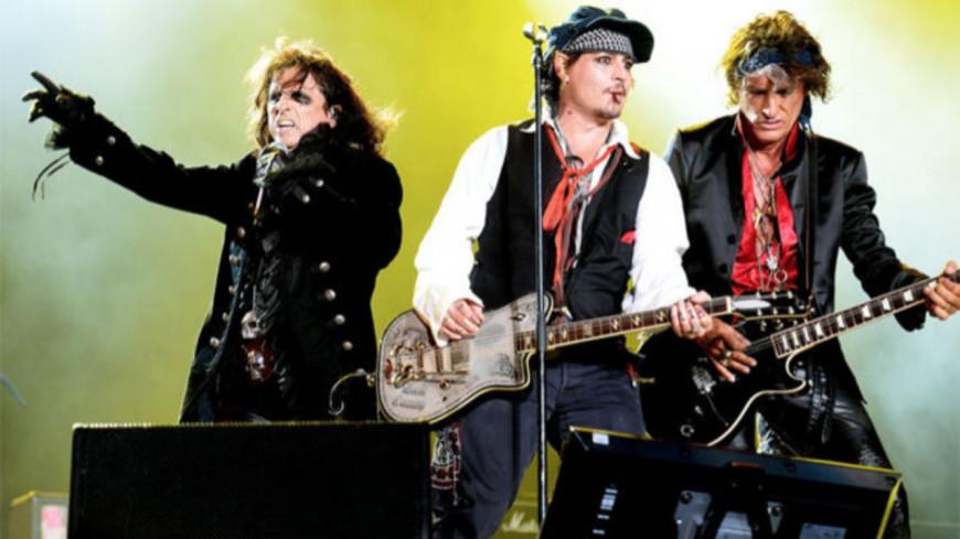 Alice Cooper, Joe Perry et Johnny Depp sortent un nouvel album