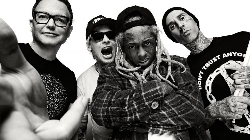 Blink-182 en concert avec Lil Wayne