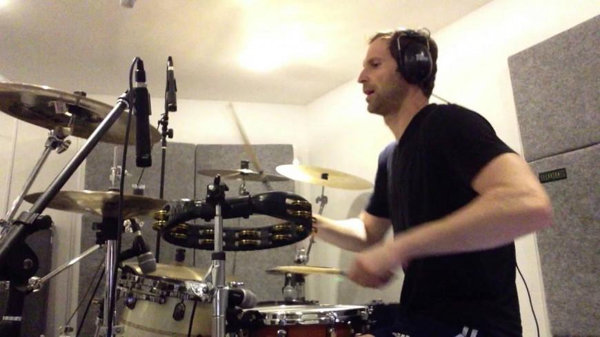 Petr Čech va sortir un disque avec le batteur de Queen