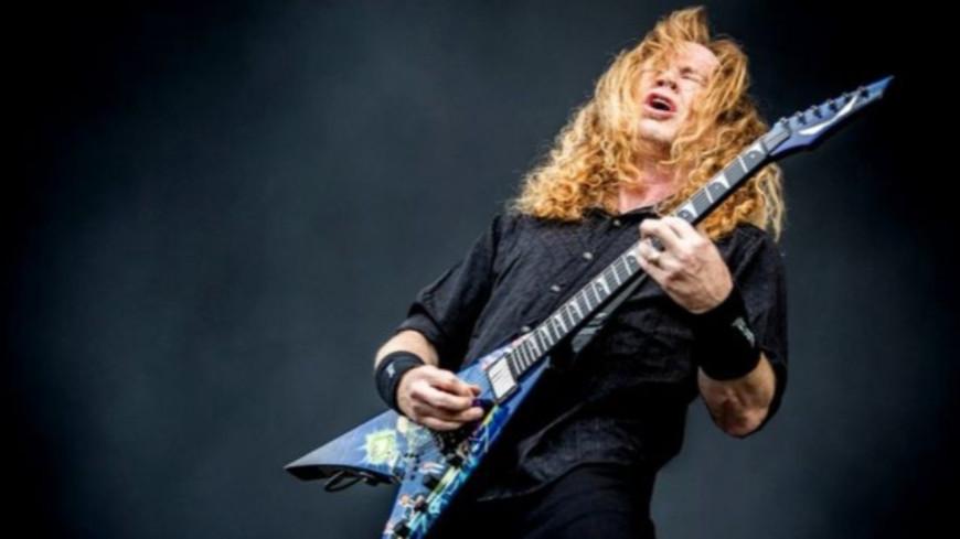 Le chanteur Dave Mustaine du groupe Megadeth est atteint d'un cancer