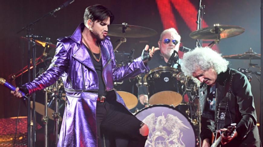 Queen et Adam Lambert en concert à l'Accor Hotel Arena