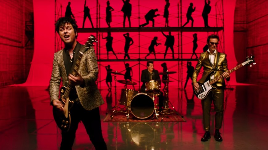 Green Day dévoile les secrets de tournage du clip