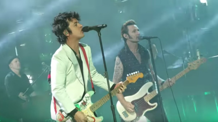 Le live de Green Day aux American Music Awards