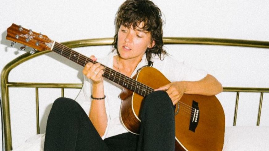 Courtney Barnett, son live acoustique
