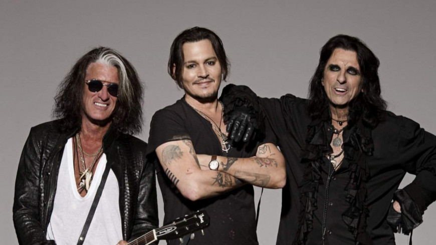 The Hollywood Vampires, en concert