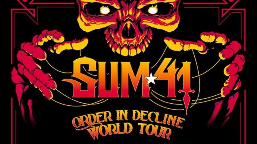 SUM 41, un concert à Paris
