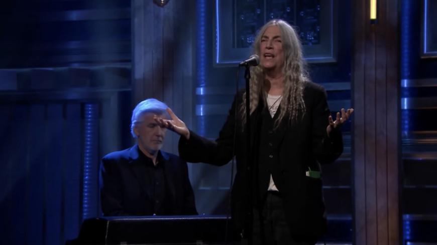 """Patti Smith reprendre """"After the Gold Rush"""""""