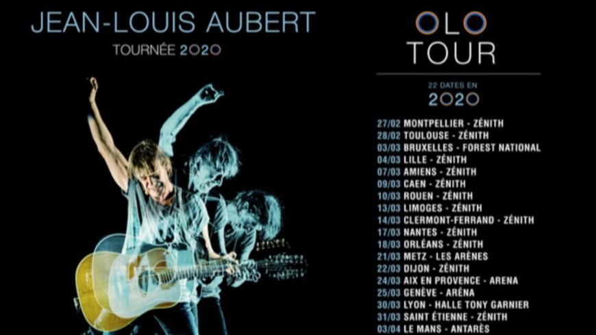 Jean Louis Aubert - Olo Tour 2020