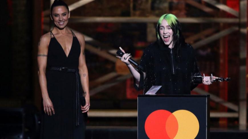 Le palmarès de la 40ème cérémonie des BRIT Awards