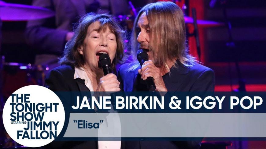 "Jane Birkin et Iggy Pop reprennent ""Elisa"" de Serge  Gainsbourg"