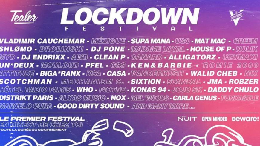 Lockdown Festival : le festival qui a lieu chez vous !