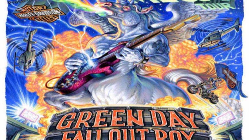 Green Day, Fall Out Boy et Weezer : leur nouvelle date