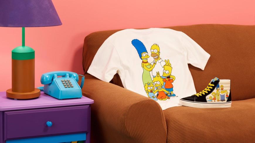 Vans s'associe avec les Simpson pour une nouvelle collection