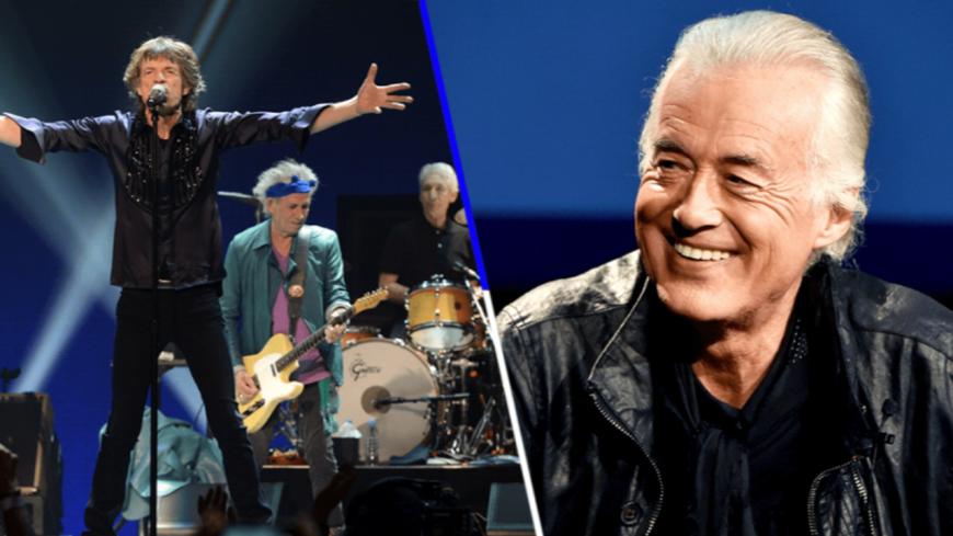 Jimmy Page raconte sa première rencontre avec les Rolling Stones