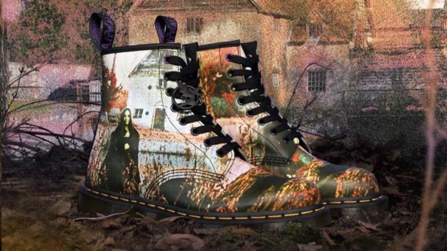Les nouvelles chaussures signées Dr. Martens et Black Sabbath !
