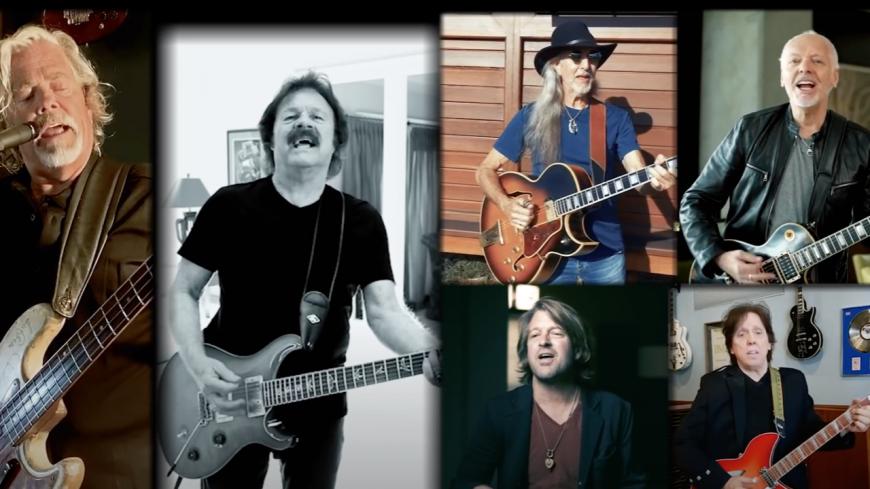"""Les Doobie Brothers et Peter Frampton reprennent """"Let It Rain"""" d'Eric Clapton (vidéo)"""