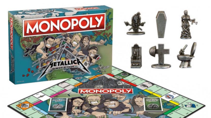 Découvrez la version Metallica du Monopoly !