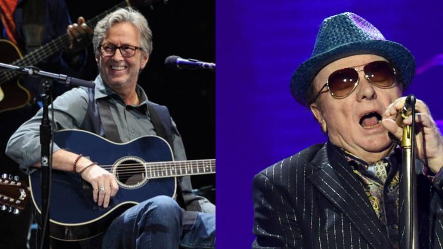 """Eirc Clapton et Van Morrison partagent """"Stand and Deliver"""" !"""