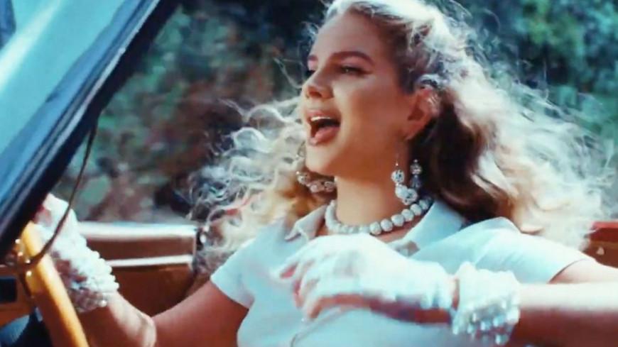 Lana Del Rey dévoile les premières images de son prochain clip