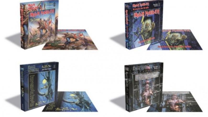 De nouveaux puzzles à l'effigie d'Iron Maiden !