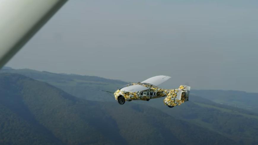 Insolite - En 2023, les premières voitures volantes seront commercialisées (vidéo)