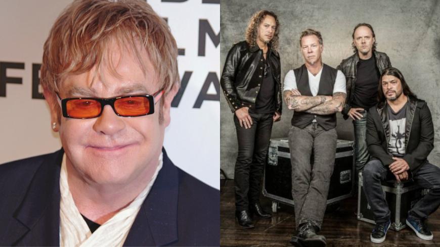 Elton John et Metallica vous réservent une surprise !