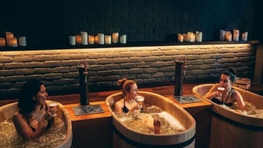 Insolite - Un Spa propose des bains de bière ! (photos)