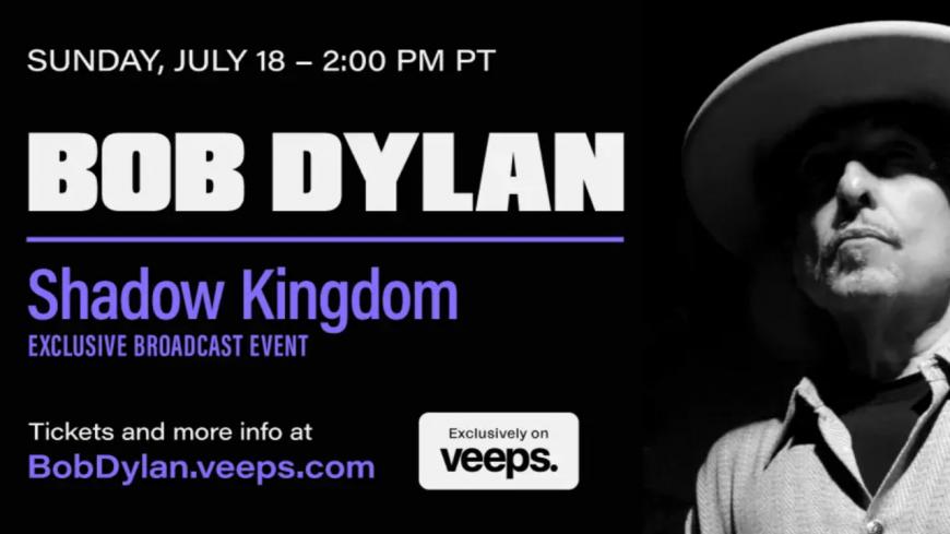 Bob Dylan donnera un concert en livestream ce 18 juillet ! (trailer)
