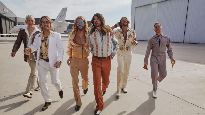 Les Foo Fighters se la jouent disco dans leur nouvel album ! (extraits)