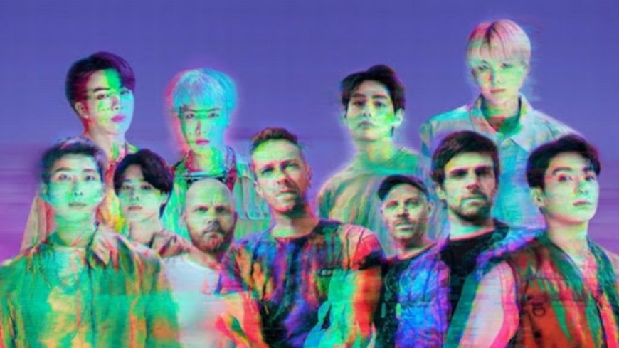 """Coldplay et le boys band coréen BTS dévoilent le titre """"My Universe"""" ! (vidéo)"""