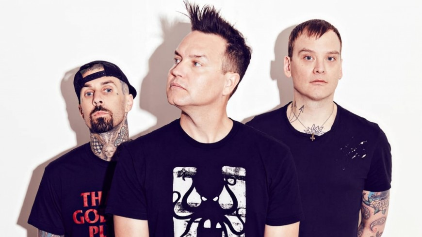 Le groupe Blink-182 de retour en studio