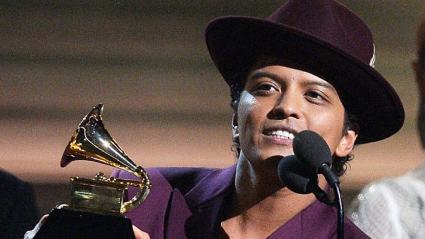 L'hommage de Bruno Mars pour Prince !