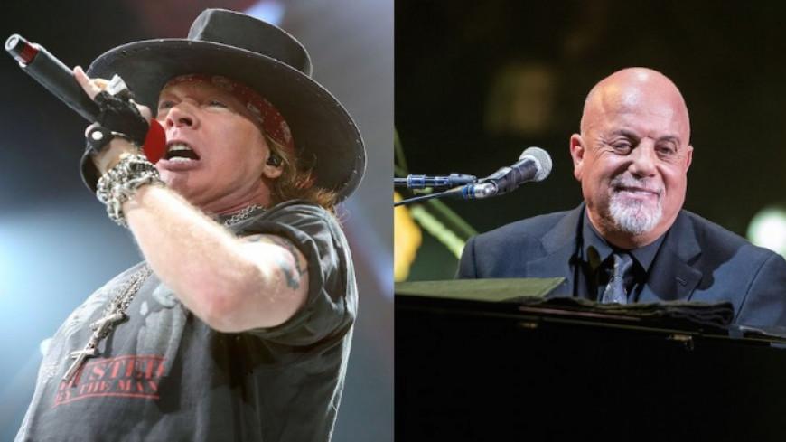 La reprise de « Highway To Hell » par Axl Rose et Billy Joel