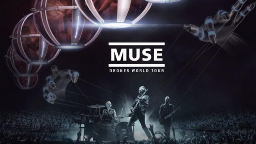 """Muse : leur film """"Drones World Tour"""" au cinéma"""