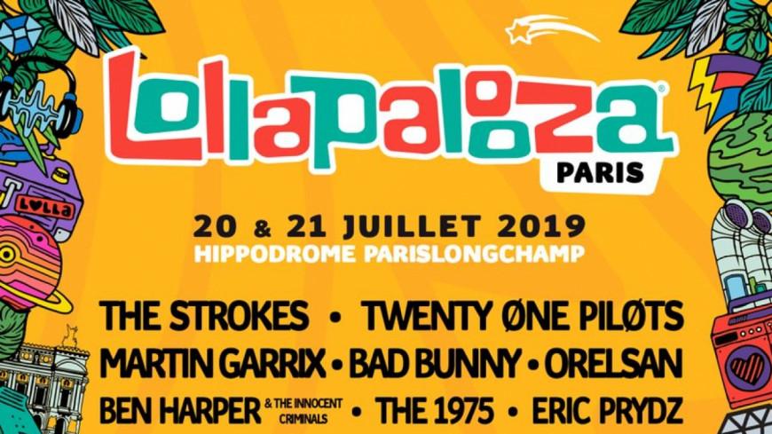La programmation de Lollapalooza 2019 est dévoilée !
