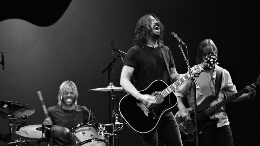 Les Foo Fighters en folie