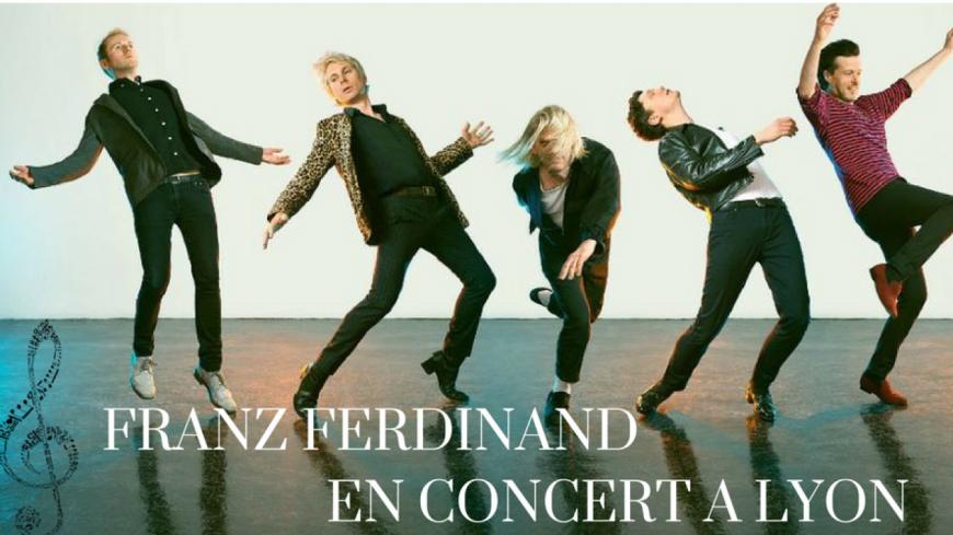 Franz Ferdinand en concert à Lyon