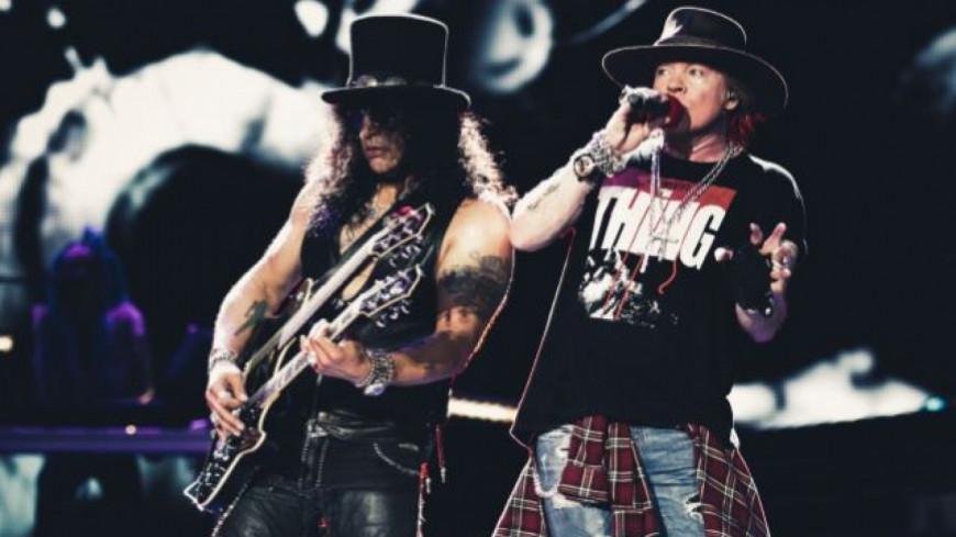 Guns N' Roses écourte leur dernier concert !