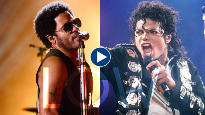 Incroyable : Lenny Kravitz chante avec Michael Jackson sur son nouveau single
