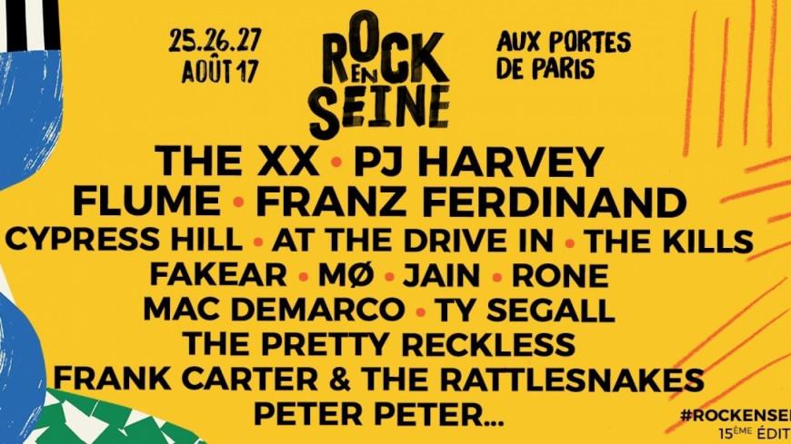 Festival Rock en Seine, 15ème édition !