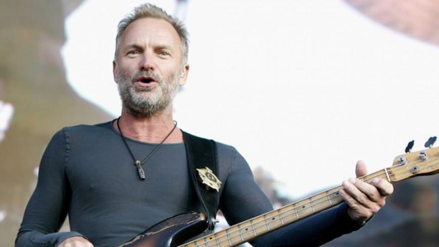 Sting en concert le 16 juillet 2018