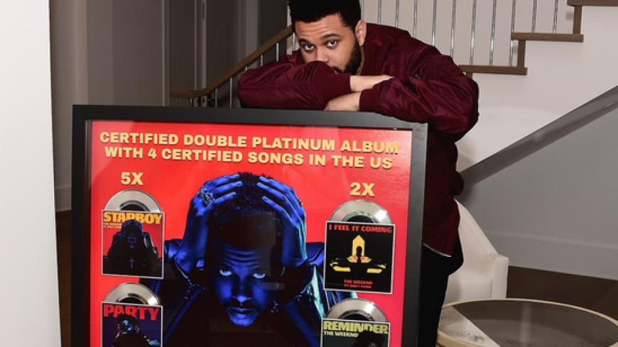The Weeknd, l'artiste le plus récompensé de l'année !