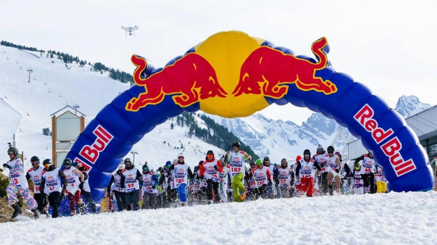 Le Red Bull Tout Schuss aux 2 Alpes !