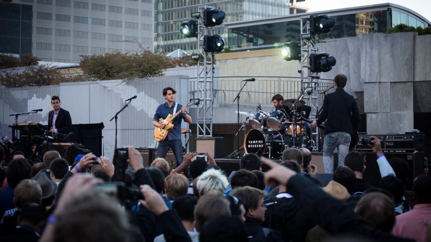 Vampire Weekend reprend un tube des Beatles